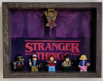 Stranger Things, Fan Art Mini Figure Frame