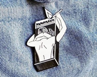 Tinder Box Love Pin/Badge