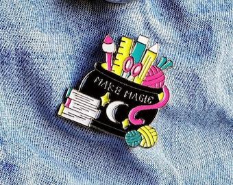Make Magic Pin/Badge