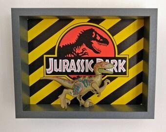 Jurassic Park, Fan Art Mini Figure Frame