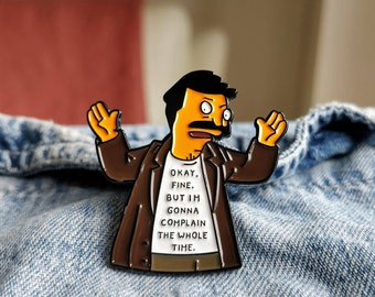 Complaining Bob Pin/Badge