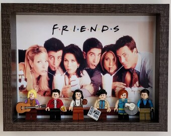 FRIENDS, Fan Art Mini Figure Frame