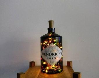 Hendricks Gin Bottle Multicoloured Light