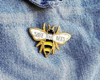 Save the Bees Pin/Badge