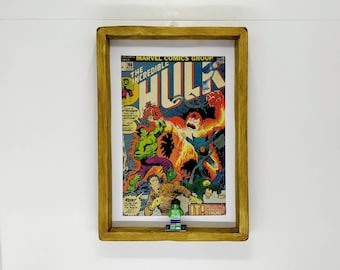 The Incredible Hulk Comic, Front Cover, Fan Art Figure Frame
