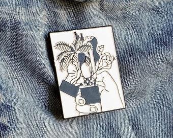 Lighter Love Pin/Badge