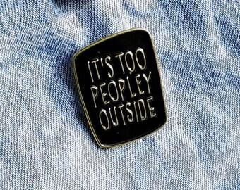 Socially awkward Pin/Badge