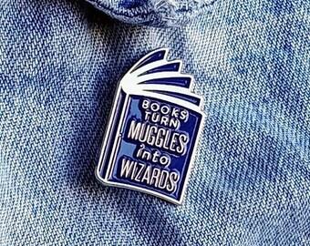 Muggles to Wizards Pin/Badge