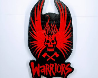 The Warriors Wooden Wall Art Hanging - Birthday, Christmas Gift/Present