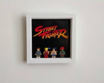 Street Fighter, Fan Art Figure Frame