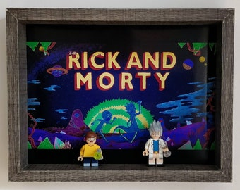 Rick and Morty, Fan Art Mini Figure Frame