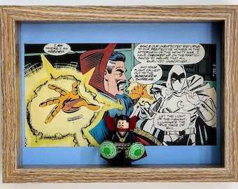 Doctor Strange, Fan Art Mini Figure Frame