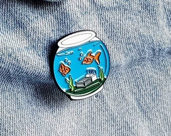 Fishbowl Pin/Badge
