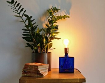 Upcycled Haig Whisky Bottle Table Lamp