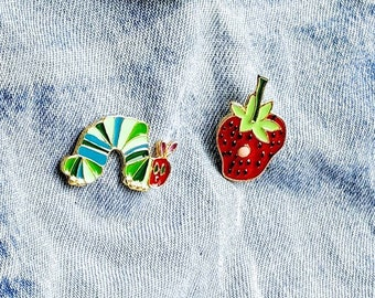 Hungry Caterpillar Pin/Badge set