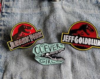 Jurassic Park, Jeff Goldbloom Pin/Badge