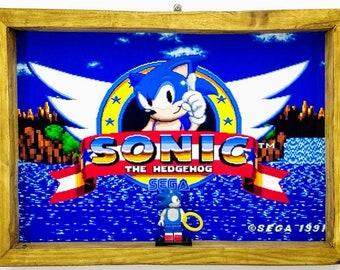 Sonic Fan Art Figure Frame