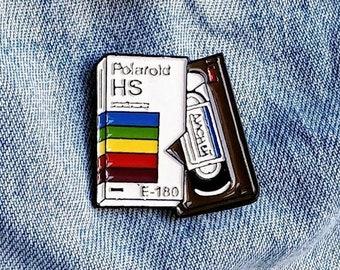 VHS, Video Cassette Pin/Badge
