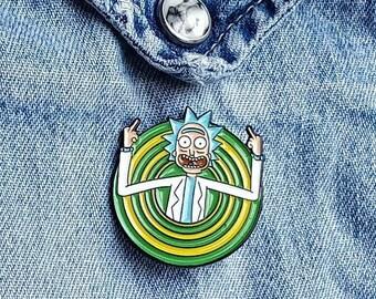 Rick and Morty, Rick Pin/Badge