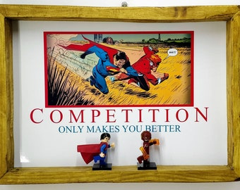 Motivational Competition Fan Art Figure Frame