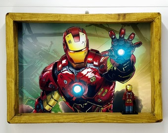 IronMan Fan Art Figure Frame