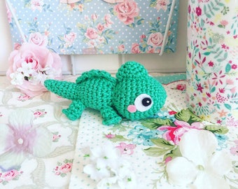 Pascal the chameleon from Tangled crochet amigurumi doll plush MADE TO ORDER