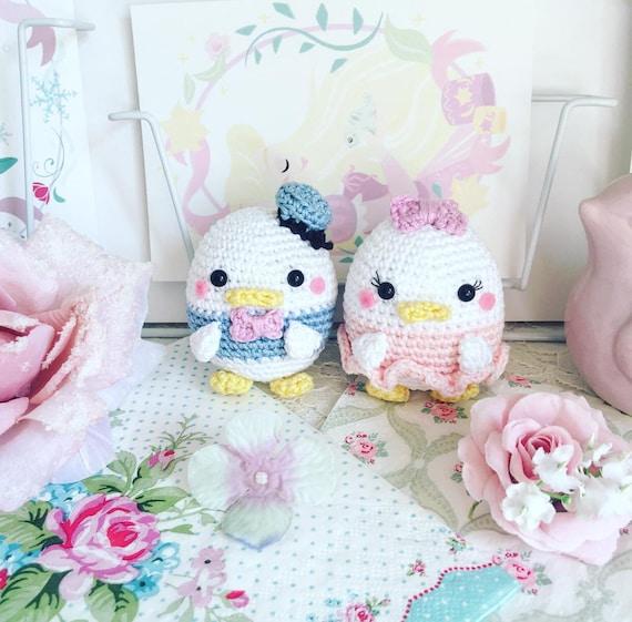 Gänseblümchen Oder Donald Duck Häkeln Puppe Amigurumi Disney Etsy