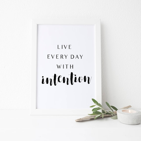 photo about Yoga Printable referred to as Yoga Printable, Yoga Quotation, Stay each individual working day with goal, Household Office environment Print, Yogi Present, Sure Quotation Artwork, 8x10, 5x7