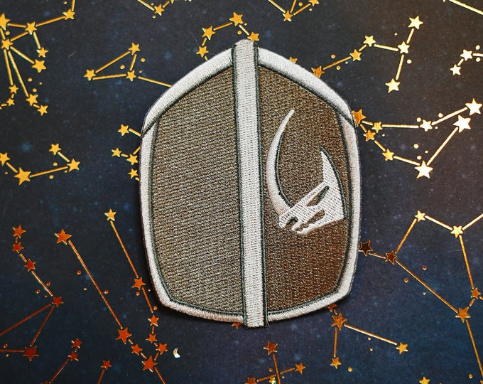 Long Horn Mando Inspired Patch