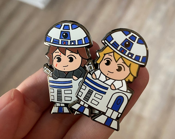 Luke and Anakin Roller Pins Limited Release [Wave 1] [LIMIT 1 PER CUSTOMER]