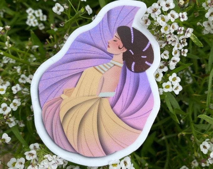 """Snail Queen Sticker 3"""""""