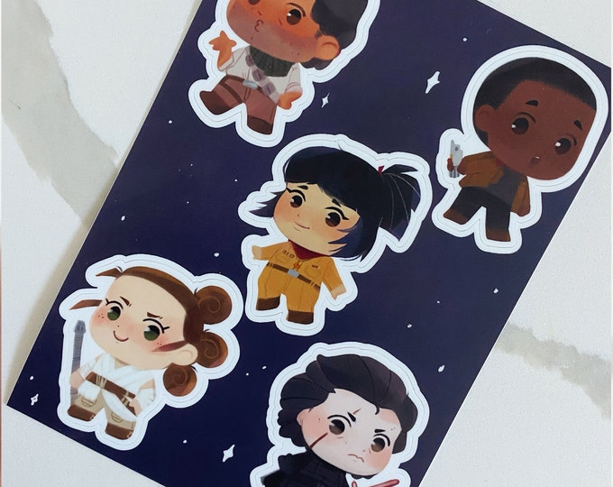 The New Era 5x7 Sticker Sheet