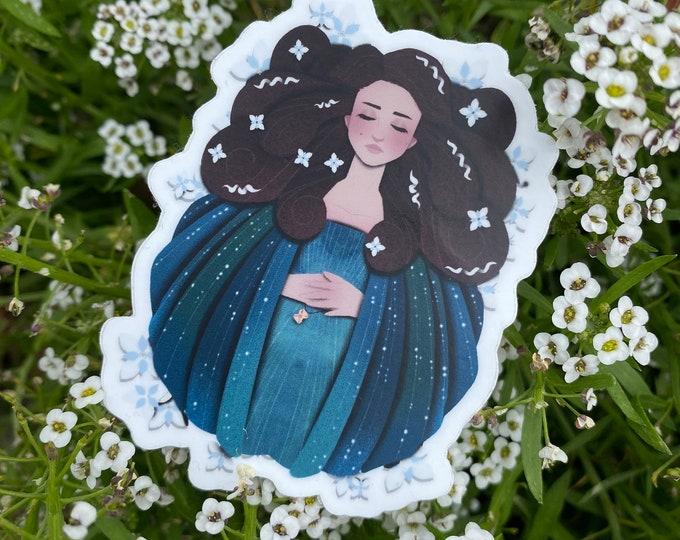 "Funeral Queen Sticker 3"""