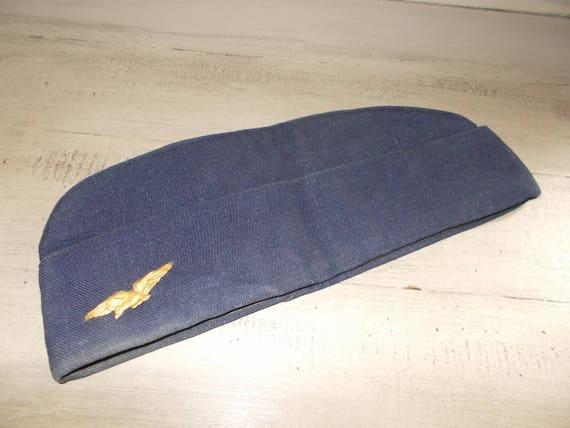 Original Vintage French Calot Bonnet Beret