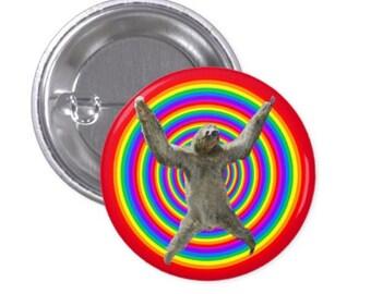 Trippy Sloth Button