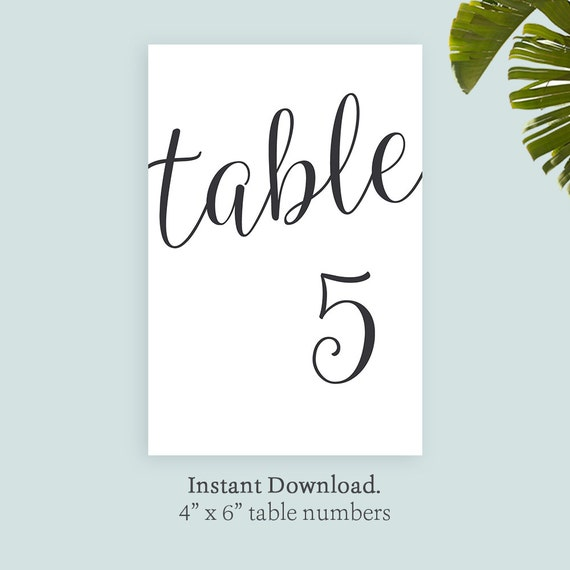 photograph about Printable Table Numbers called Printable desk range template, 4x6 black printable templates, Do-it-yourself Self Printable Desk No, Prompt Down load Editable Desk Range Template