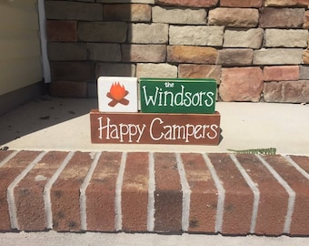 Happy Campers Block Set