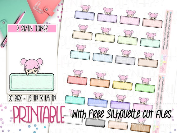 image regarding Printable Sticker Sheets identify Printable Planner Stickers, Rosie - 3 Pores and skin Tones, Peekaboo Containers Stickers - Reduced, Lovable Stickers, Printable Sticker Sheets, Doodle Stickers