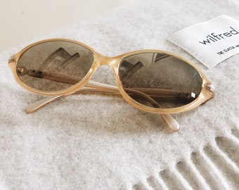 749c1b486c Vintage Burberry Yellow Sunglasses