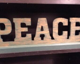 Wooden Word Art