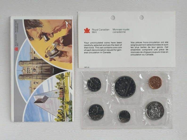 Royal Canadian Mint 1982 Canada Set