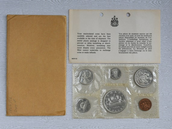 1966 Canada Prooflike Uncirculated Set Silver