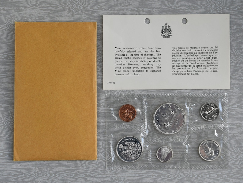 1981 Canada Uncirculated Proof-Like Set