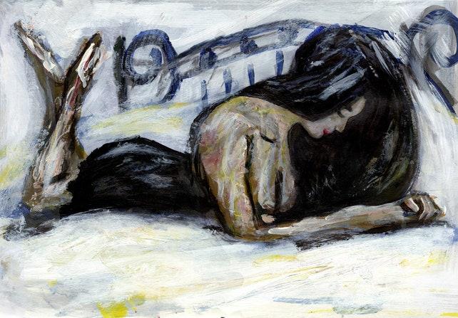 erotische Kunst Schlafzimmer Dekor Ölgemälde nackt | Etsy