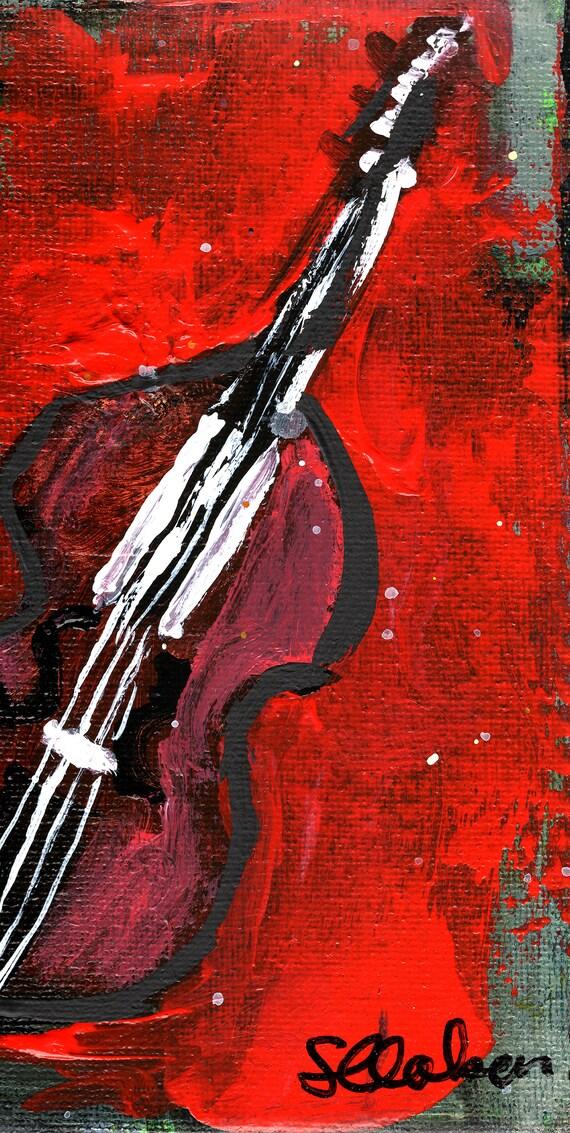 Violine Druck abstrakte Kunst minimalistisch Musik Poster | Etsy