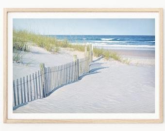 Ocean Photography - Beach Photography, Atlantic Ocean Print, Sand Dune Photos, Beach House Decor, Coastal Photography, Shabby Chic Beach Art