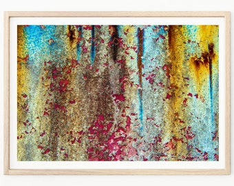 Abstract Photography - Abstract Print, Abstract Wall Art, Rusted Cars, Rust Wall Art, Abstract Photos, Abstract Decor, Abandoned Photography