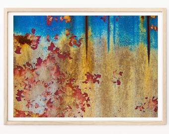 Abstract Photography - Abstract Print, Abstract Wall Art, Rusted Cars, Abandoned Art, Abstract Photos, Abstract Decor, Abandoned Photography