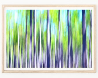 Nature Abstract Photography - Abstract Art Print, Abstract Wall Art, Pine Trees, Abstract Photos, Abstract Art, Tree Wall Art, Nature Prints