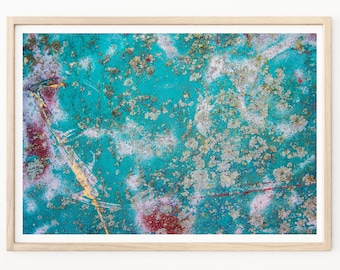 Abstract Photography - Abstract Art Print, Abstract Wall Art, Rusted Paint, Abandonment Art, Abstract Art, Abstract Photos, Abstract Decor